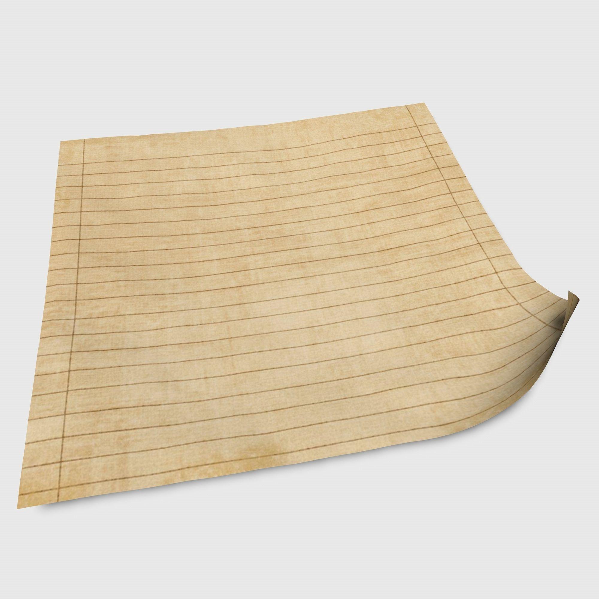 Old Paper | 3D model