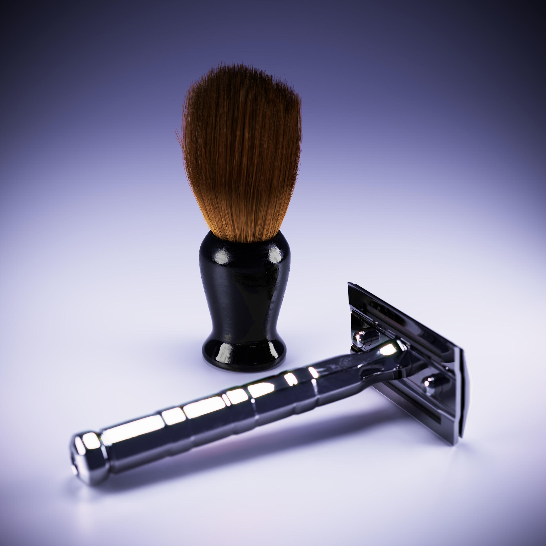 vintage razor scene