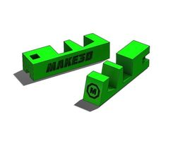 3D print model Phone stand keychain