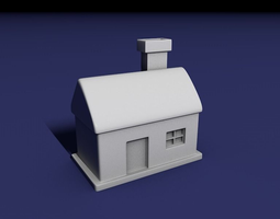 House 3D print model