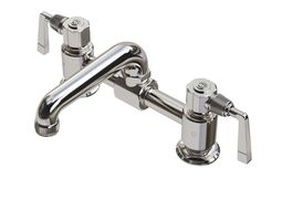 3d model waterworks rw atlas faucet with lever handles