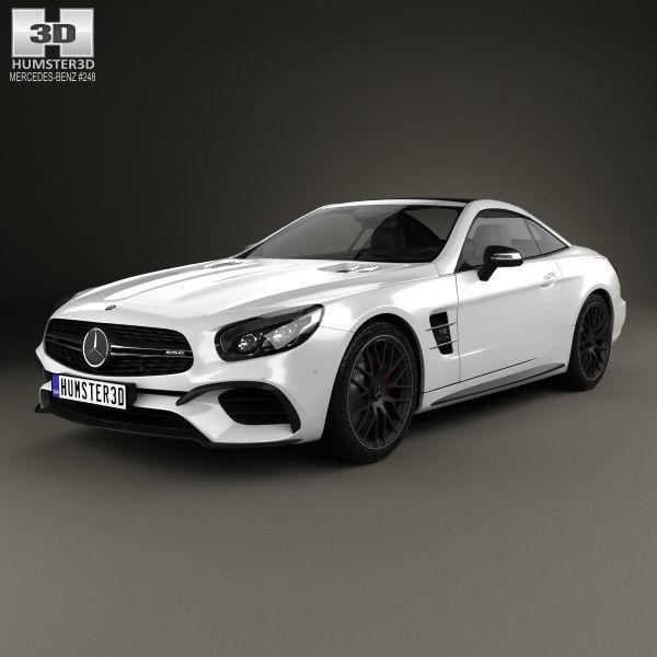 Mercedes-Benz SL-Class R231 SL 63 AMG 2015 3D