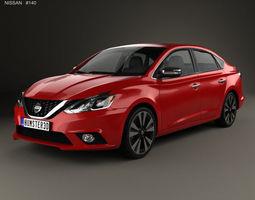 Nissan Sentra SL 2016 3D