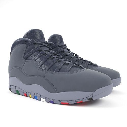 3eb7698de46279 Air Jordan 10 Retro Nike 3D model