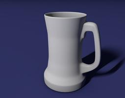 3d print model beer mug