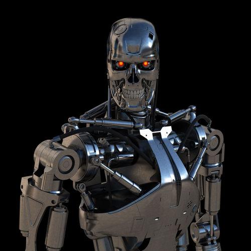 3d Terminator T 800 Endoskeleton Cgtrader