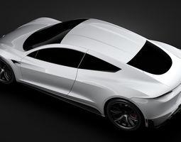 3D Tesla Coupe 2020