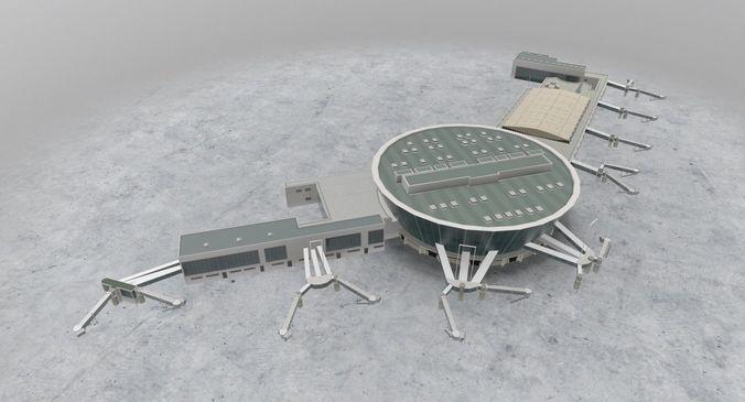 lfmn terminal 2 3d model low-poly max obj mtl 3ds fbx 1