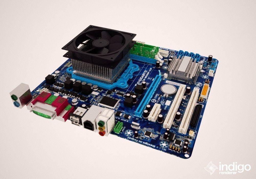 gigabyte motherboard whit ram