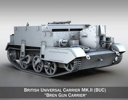 Universal Carrier MK2 - Bren Gun Carrier 3D