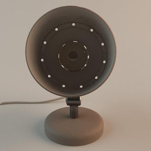 60s table lamp 3d model max obj mtl fbx 1