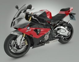 BMW S1000RR 2012  Motorcycle 3D Model