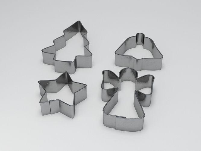 baking mould set 3d model obj mtl fbx ma mb 1