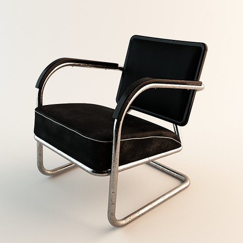 Arm Chair 60s Style 3D Model