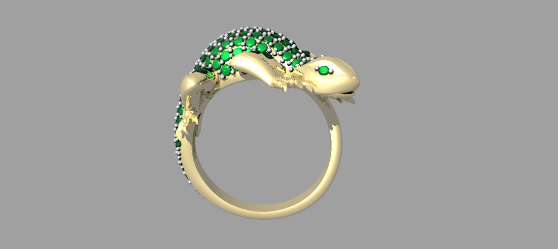 lizard smokey jewellery walklett square rebecca quatz pebble designer rings ring large metalsmith