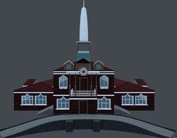 3D model House-Museum Teremok
