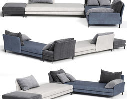 3D model Colombini Casa SPETTACOLO Sofa