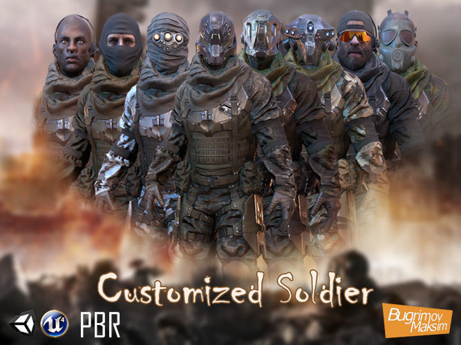 PBR Customized Soldier