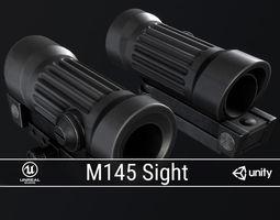 PBR M145 Sight 3D model
