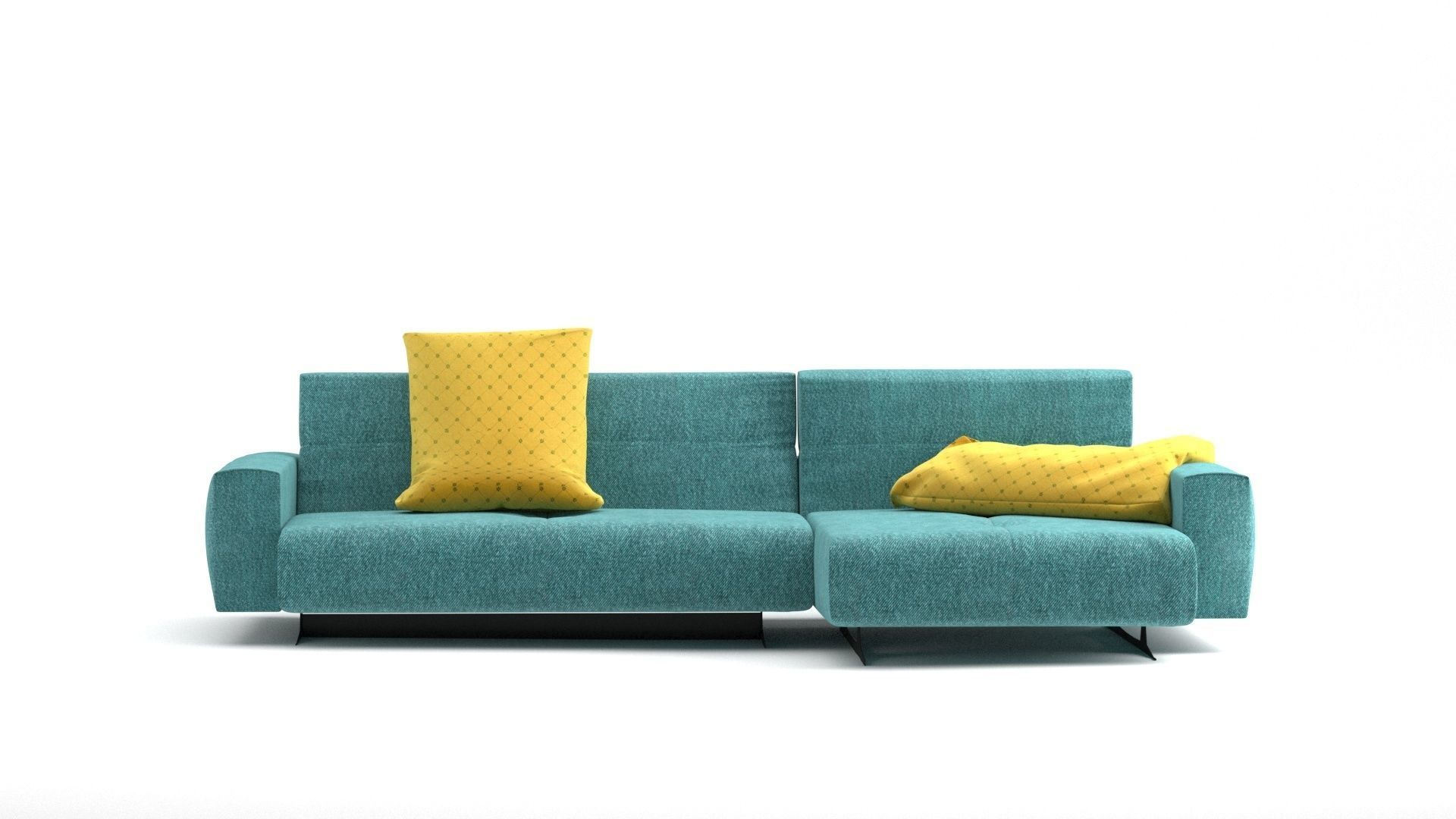 Divano 3ds Max.Sofa Divano Benz V Ray Corona Render 3d Model