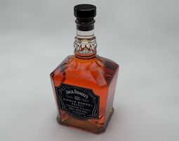 3D model Jack Daniels Single Barrel Select