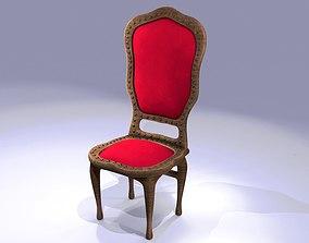 3D model Wooden Chair classic