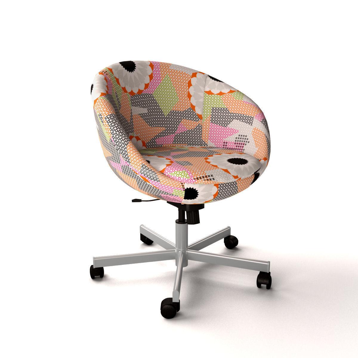 Superieur Ikea Skruvsta Swivel Chair Ankarsvik 3d Model Max Obj 3ds Fbx 1 ...