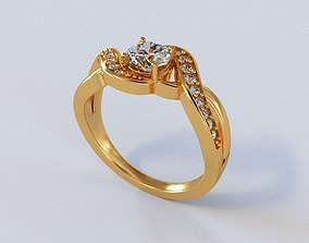 Mariage Rings 18 3D print model
