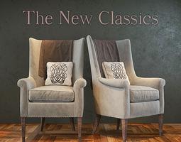 3D model The New Classics Armchair