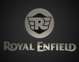 3D royal enfield logo