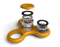 3D model Fidget Spinner full