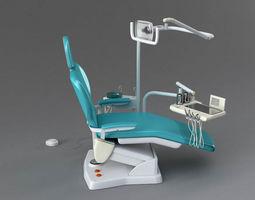 Dentist chair 3D rigged