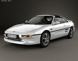 3D Toyota MR2 1990
