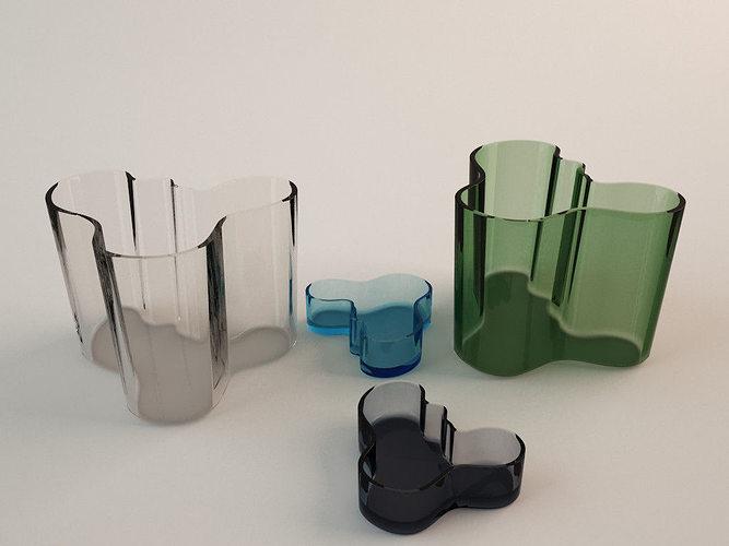 3d Model Ittala Alvar Aalto Vase Cgtrader