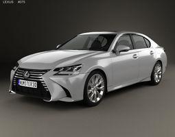 3D Lexus GS 350 2015