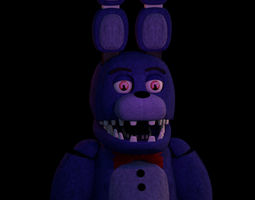 Unwithered Bonnie 3D model