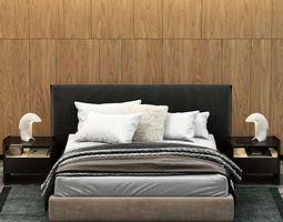 POLIFORM BRUCE BED 3D model