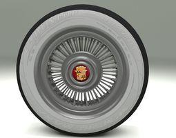 Cadillac Wheel 2 3D asset
