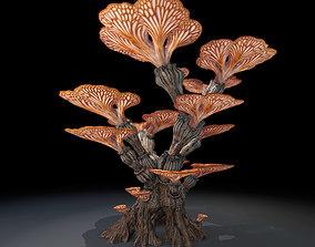 Alien Plant Mushroom Type 1 3D model