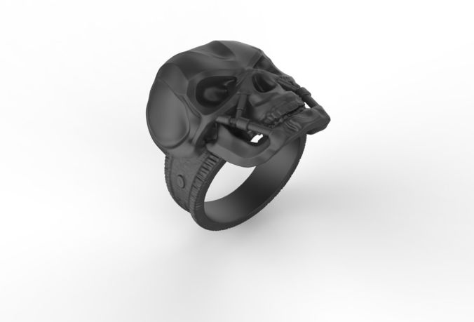 r-14 ring 3d print model 3d model obj mtl 3ds fbx stl 3dm 1