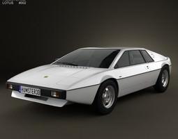 3D Lotus Esprit S1 1976