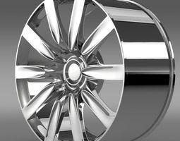 Bentley Continental GT rim 3D