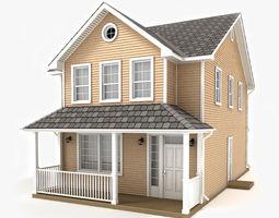 Cottage 50 3D model