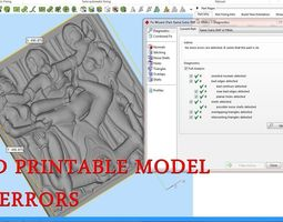 Kama Sutra Basorelief for CNC 3D Router engraver