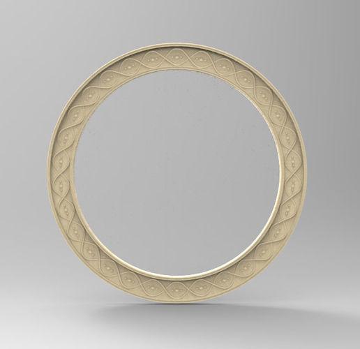 Mirror Frame Sun N Moon Set 3d Printable Model