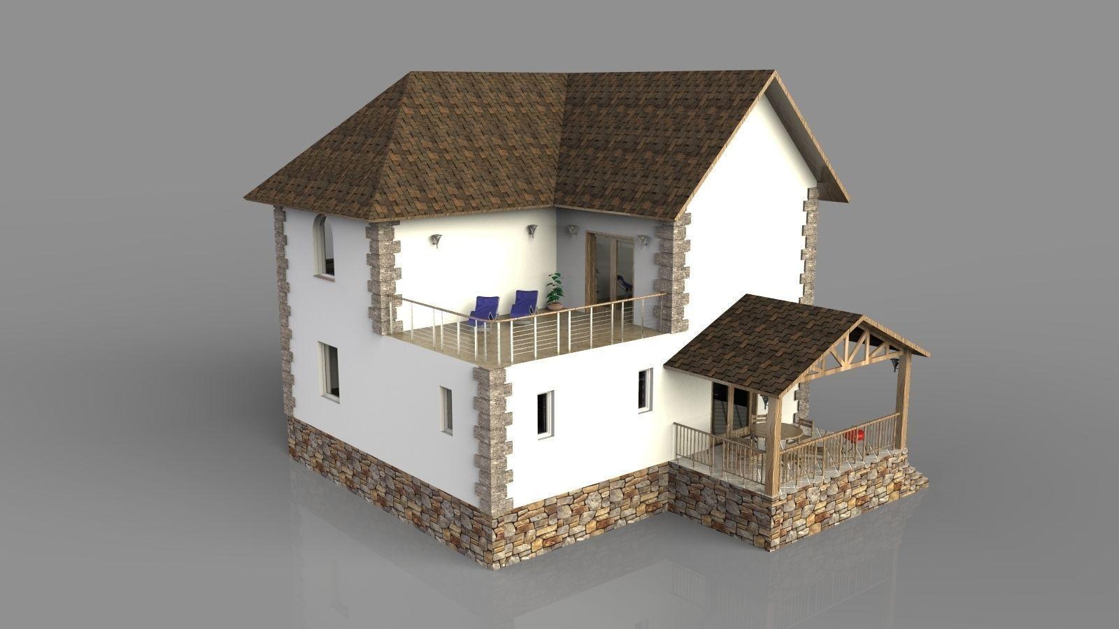 Modern House 3d Zion Star