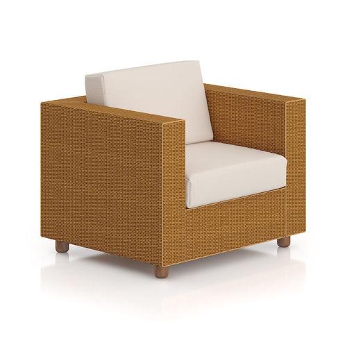 Wicker Armchair 3D Model