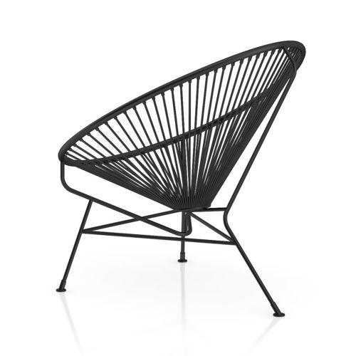 Perfect Round Black Wire Chair 3D model MAX OBJ FBX C4D MTL IU01