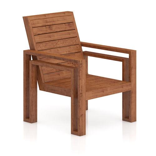 wooden chair 3d model max obj mtl fbx c4d 1