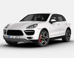 3D model Porsche Cayenne Turbo S 2013